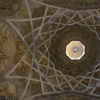 کاروانسرای عبدالغفارخان یکی از بزرگترین کاروانسرای باستانی کشور   عکس