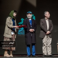 گزارش تصویری تیوال از اختتامیه دومین دوره جشنواره تئاتر اکبر رادی (سری نخست) / عکاس: سید ضیا الدین صفویان | عکس