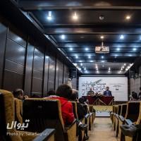 گزارش تصویری تیوال از نشست خبری دوازدهمین جشنواره بین المللی سینما حقیقت / عکاس: سارا ثقفی   عکس