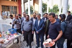 بازدید وزیر فرهنگ و ارشاد اسلامی از کارگاه «خط و خاطرات» | عکس