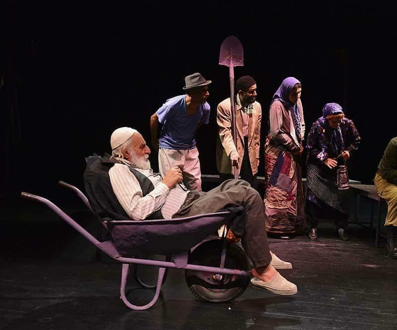 گزارش تصویری از نمایش برونسی در تالار سایه تئاتر شهر | عکس