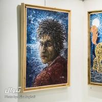 گزارش تصویری تیوال از نمایشگاه خراش - مهدی آذین / عکاس: سارا ثقفی | عکس