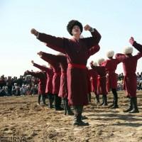 مراسم ازدواج زوجهای ترکمن   عکس