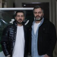 فیلم سونامی | گزارش تصویری تیوال از اکران مردمی فیلم سونامی / عکاس: فاطمه تقوی | محمدرضا غفاری، میلاد صدرعاملی در اکران مردمی فیلم سونامی