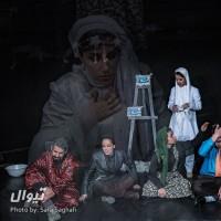 گزارش تصویری تیوال از نمایش آوازخوان طاس / عکاس: سارا ثقفی | عکس