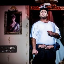 نمایش لباس جدید پادشاه | عکس