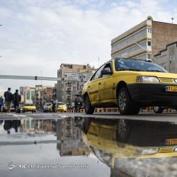 انعکاس تهران پس از باران | عکس