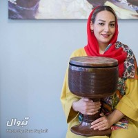 گزارش تصویری تیوال از تمرین گروه راستان / عکاس: سارا ثقفی | مریم ملا، نوازنده تنبک