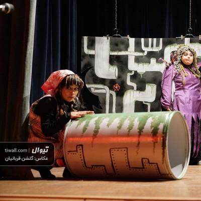 گزارش تصویری تیوال از نمایش خواب عجیب / عکاس: گلشن قربانیان | عکس