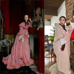 بازسازی تابلوهای معروف در خانه  | عکس
