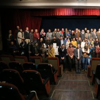 آیین اختتامیه جشنواره دوربین.نت با بزرگداشت بهرام محمدی فر برگزار شد | عکس