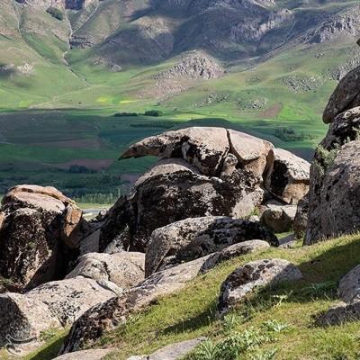 خورنج ، سرزمین سنگ های افسانه ای | عکس