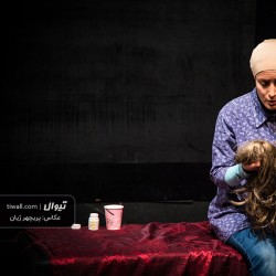 گزارش تصویری تیوال از سومین روز جشنواره تئاتر بانو ( سری نخست) / عکاس: پریچهر ژیان   عکس