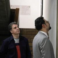 نمایشگاه موزیکالیگرافی | دکتر ملک حسینی: احساس می کنم که هنرهای اصیل ما از معرض انتخاب نوجوانان دور شده است. | عکس