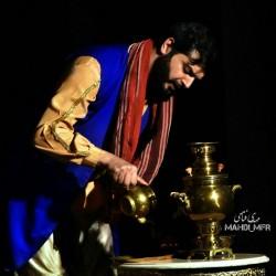 نمایش مجلس سیاه بازی امیرارسلان نامدار   عکس