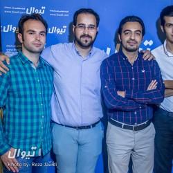 گزارش تصویری تیوال از جشن تولد چهار سالگی تیوال با حضور همکاران و هنرمندان (سری سوم) / عکاس: رضا جاویدی | عکس