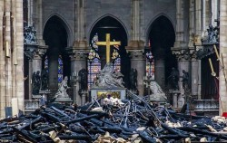 هزینه سنگین بازسازی کلیسای تاریخی نوتردام | عکس