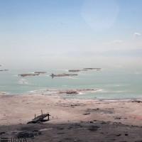آخرین وضعیت دریاچه ارومیه | عکس