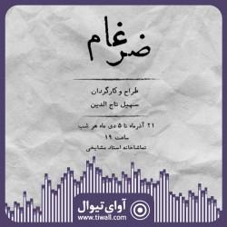نمایش ضرغام | گفتگوی تیوال با سهیل تاج الدین | عکس