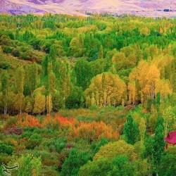 پاییز منطقه فندقلو | عکس
