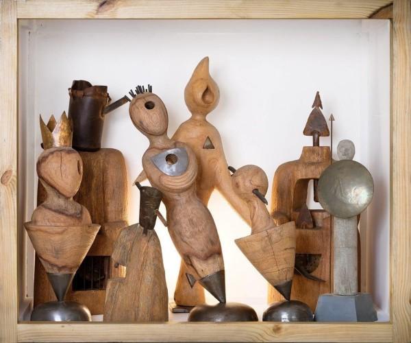 عکس نمایشگاه گروهی مجسمه