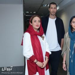 گزارش تصویری تیوال از اکران مردمی مستند سریک / عکاس: آرمین احمری | بهرام افشاری، بهاره افشاری و ترلان پروانه در اکران مردمی مستند سریک