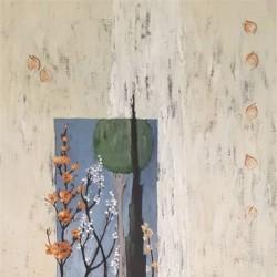 نمایشگاه نقاشیهای اکرم افضلی | عکس