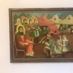 نمایشگاه نقاشی قهوه خانه | عکس