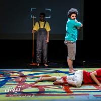 گزارش تصویری تیوال از نمایش پژوهش درباب ایدههای کارگردان به مثابه دولت تئاتر / عکاس: سارا ثقفی | عکس