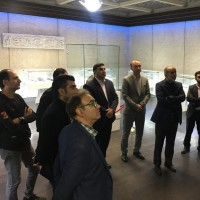 مدیر عامل بنیاد رودکی از برج آزادی بازدید کرد   عکس