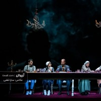 نمایش مشق شب | گزارش تصویری تیوال از نمایش مشق شب / عکاس: سارا ثقفی | عکس