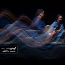 گزارش تصویری تیوال از کنسرت گروه «آن» / عکاس: سارا ثقفی | ساناز ستارزاده - سینا خشک بیجاری - گروه آن