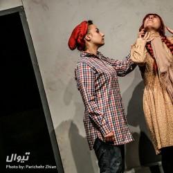 نمایش آنشرلی با موهای خیلی قرمز | عکس