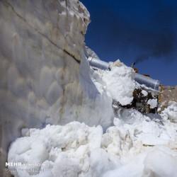 جدال با برف در دومین ماه تابستان | عکس