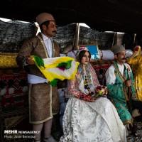 موسیقی و رنگ در عروسی بختیاری | عکس