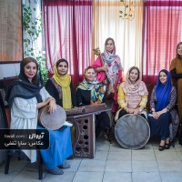 گزارش تصویری تیوال از تمرین کنسرت گروه کالیوه / عکاس: سارا ثقفی | گروه کالیوه