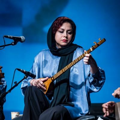 گزارش تصویری تیوال از کنسرت گروه «آن» / عکاس: سارا ثقفی | سپیده مشکی - گروه آن