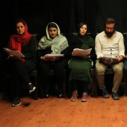 نمایشنامهخوانی مرگ در پاییز | عکس