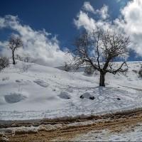 آبیدر زمستانی | عکس
