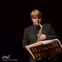 گزارش تصویری تیوال از کنسرت کوارتت ساکسوفون استکهلم / عکاس: علیرضا قدیری | عکس