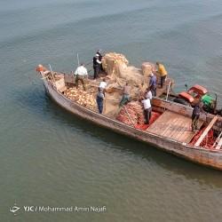 ماهیگیری در دریای خزر | عکس