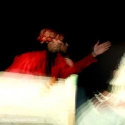 نمایش مونوپولی در چهارراه حوادث | عکس