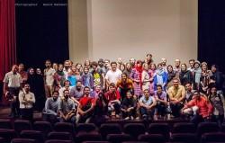 نمایش ایران استرالیا   شادی