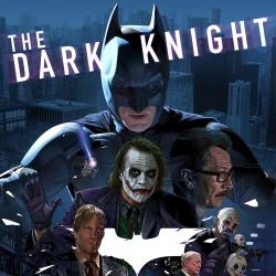 کارگاه آموزش زبان انگلیسی از طریق نمایش فیلم  The Dark Knight | عکس