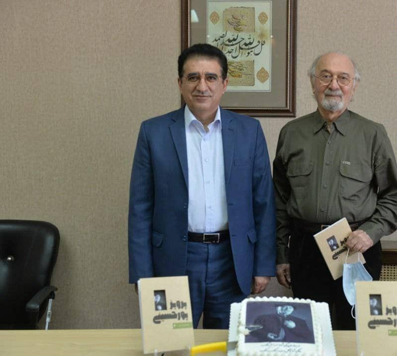 پیام تسلیت مدیرکل هنرهای نمایشی برای درگذشت پرویز پورحسینی | عکس
