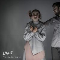 گزارش تصویری تیوال از نمایش فقط چهل روزه بودم / عکاس: سارا ثقفی | عکس