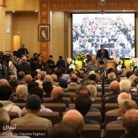 گزارش تصویری تیوال از مراسم ترحیم زندهیاد جمشید مشایخی / عکاس: فاطمه تقوی | عکس