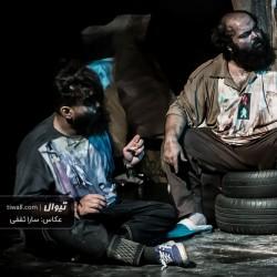 نمایش روز حشر، چهار متر و شصت سانت زیر زمین | عکس
