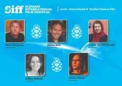 پوران درخشنده داور بخش رقابتی اصلی چهارمین جشنواره بینالمللی فیلم سلیمانیه شد | عکس