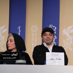 گزارش تصویری تیوال از نشست خبری فیلم خروج / عکاس: رومینا پرتو | عکس